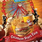 Wendy's of Colorado Springs/Colorado State Fair Combo Thursday Poster
