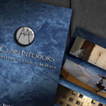 McClain Interiors Brochure and Business Cards