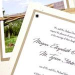 Ormston/Slater Wedding Invitation