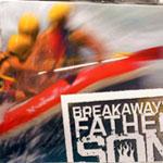 Breakaway Father Son Retreat Devo Book Design